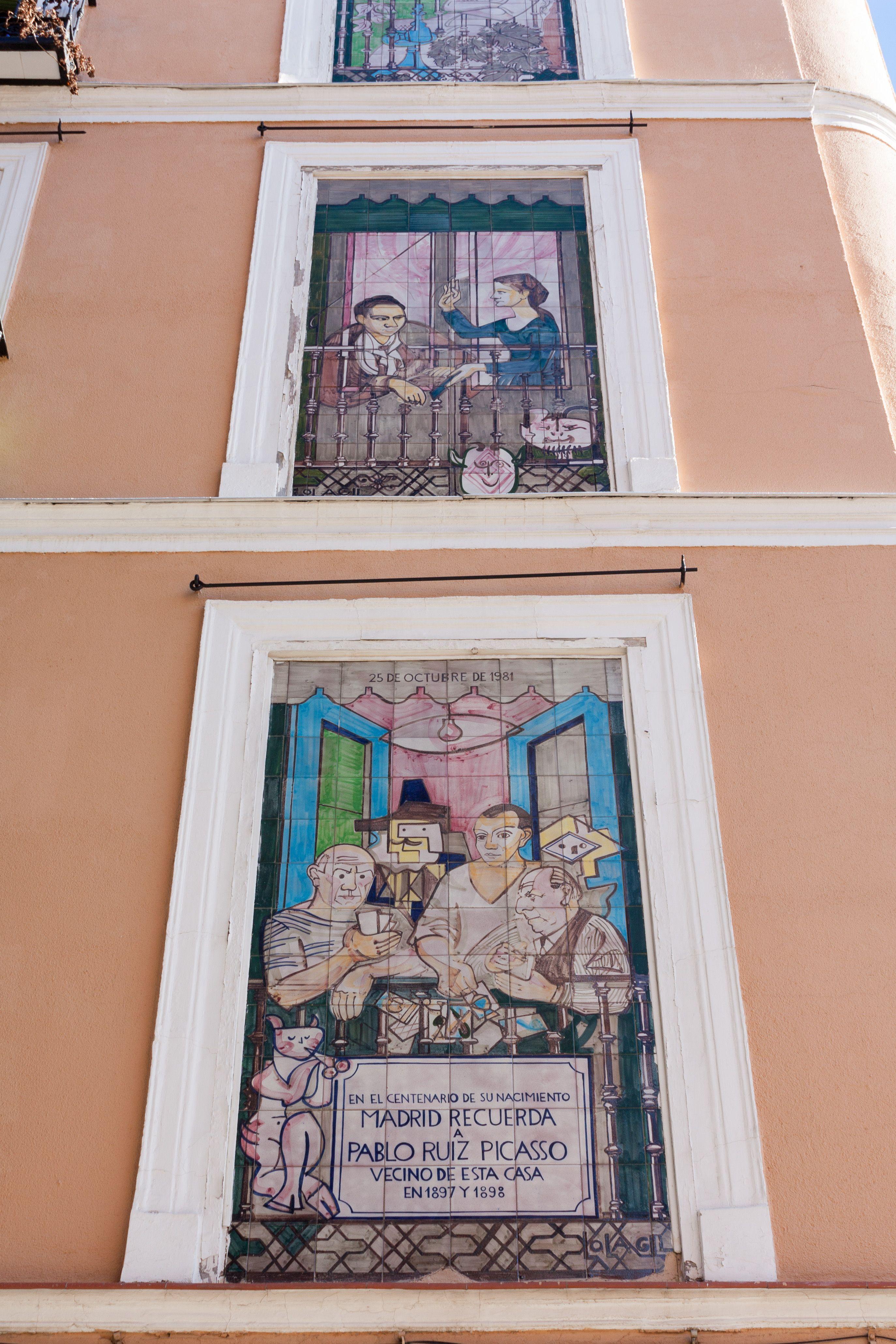 En La Calle De San Pedro Mártir Nº 5 Junto A Tirso De Molina Vivió Pablo Ruiz Picasso Entre 1897 Y 1898 Cuando Contaba 16 Años De Edad Picasso Arte