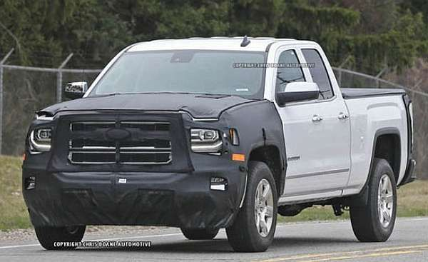 2016 Chevrolet Silverado – spy photos