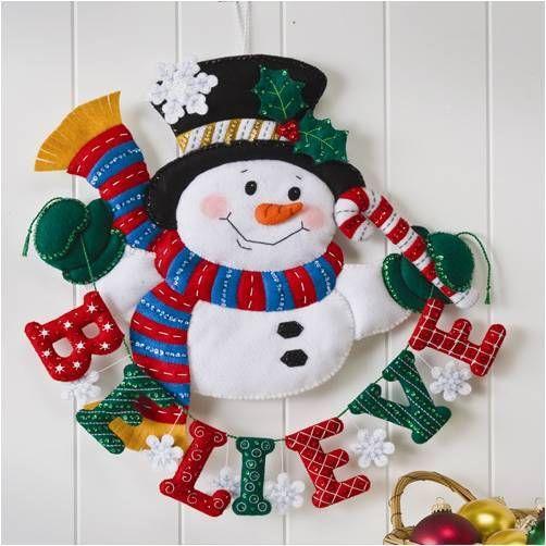 Ayuda con mu ecos de nieve fieltro pinterest nieve - Como colgar una manta en la pared ...