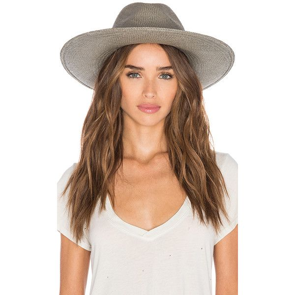 bb6938514c6 Janessa Leone Angelica Wide Brimmed Panama Hat Accessories ( 264) ❤ liked  on Polyvore featuring accessories