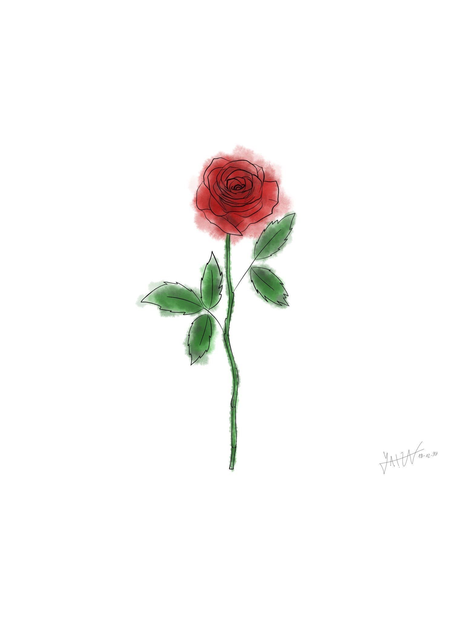Pin by Al3xand3r Wolf3 on Drawings | Jonghyun, Rose icon ...