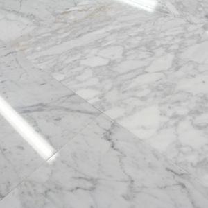 Carrelage Marbre Blanc Carrara Poli 30 5x61 Cm Parquet