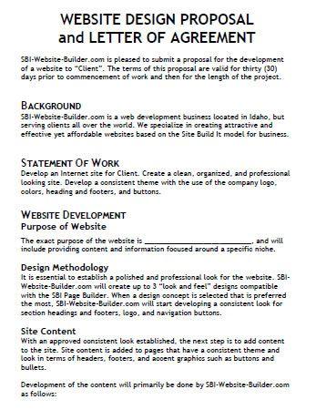sample of website proposal koni polycode co
