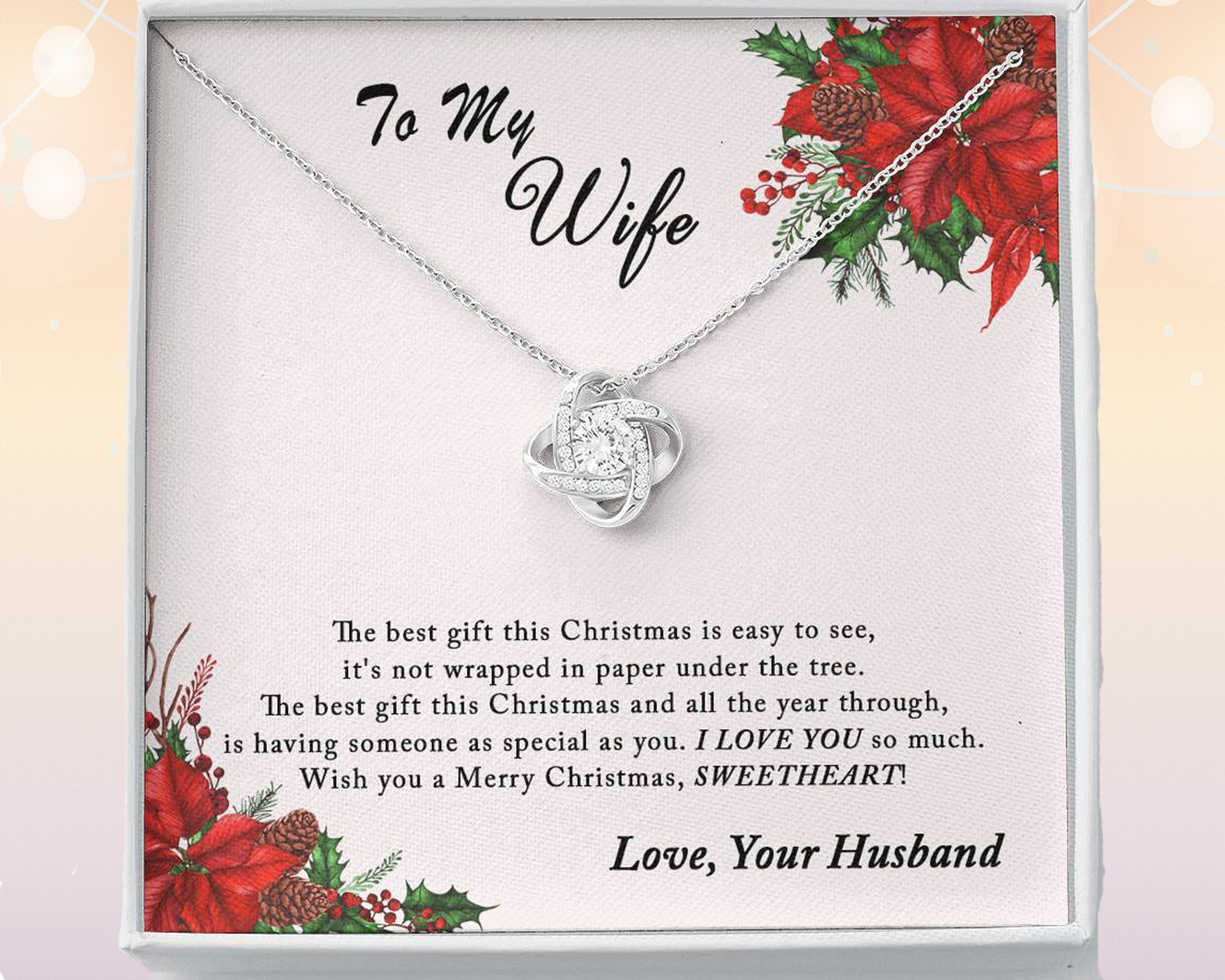 Christmas Gift For Wife From Husband First Married Christmas Etsy In 2021 Christmas Gifts For Wife Best Gift For Wife Gifts For Wife
