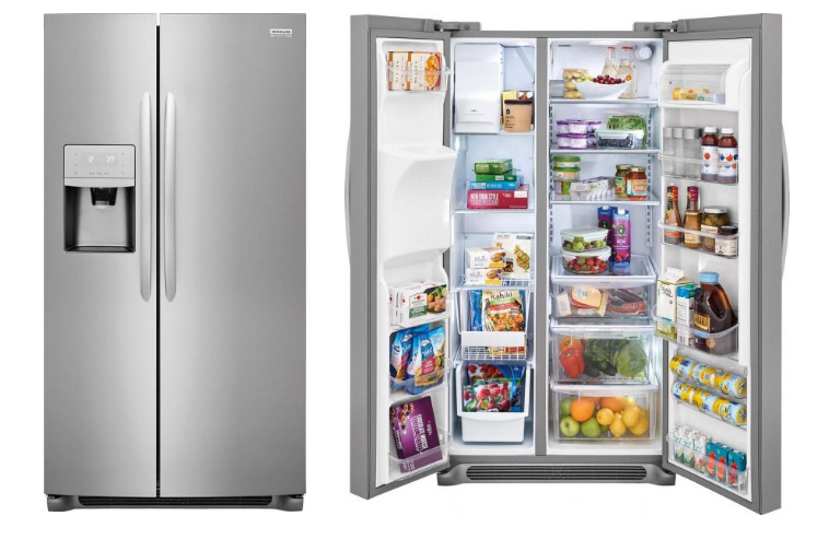 Best Side By Side Refrigerators In 2020 Buying Guide And Reviews In 2020 Refrigerator Locker Storage Best Refrigerator