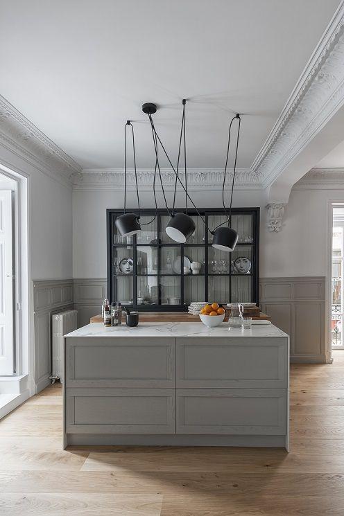 Como diseñar una cocina con isla Pinterest Kitchens and Lights - como disear una cocina