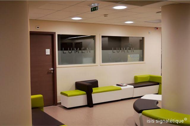 signaletique h pital lyon rh ne salle d 39 attente vinyle sabl plaques de porte jardin. Black Bedroom Furniture Sets. Home Design Ideas