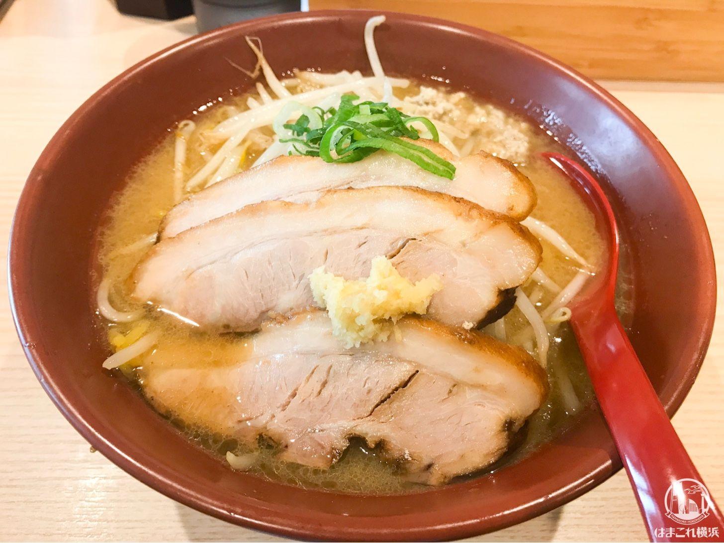 横浜 南太田 拉麺 大公 の焼き味噌ラーメンに虜 甘系味噌でえび