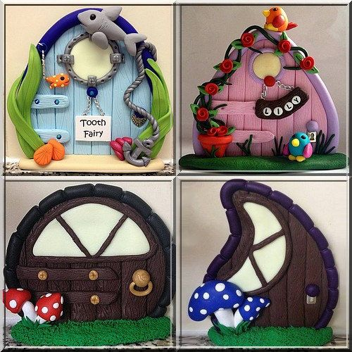 How to make polymer clay fairy doors How to make a fairy door out of clay