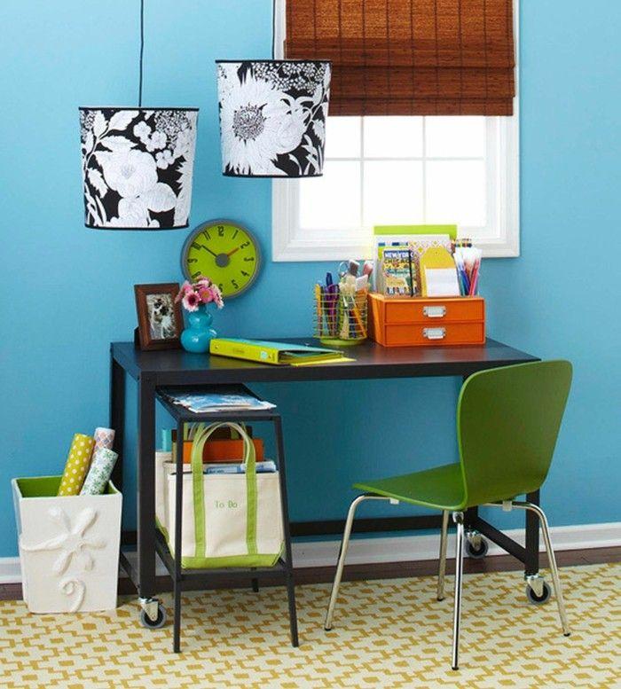 Moderne Inneneinrichtung - 63 Ideen, wie Sie das Home Office - homeoffice einrichtung ideen interieur