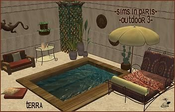 Mod The Sims - Sims in Paris:Outdoor 3~Terra Recolour