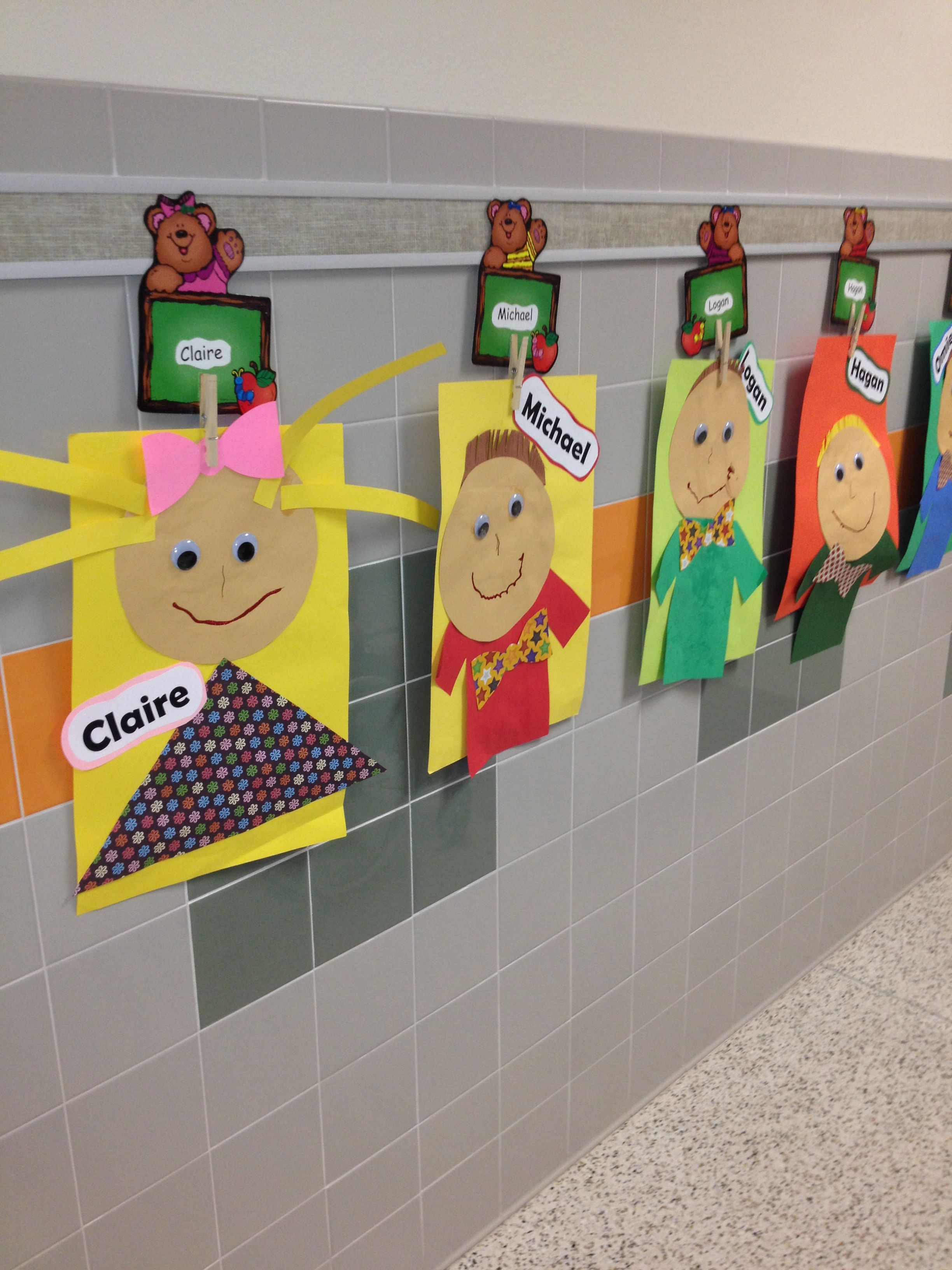 All About Me I Like The Name Clips To Hang Them From Too