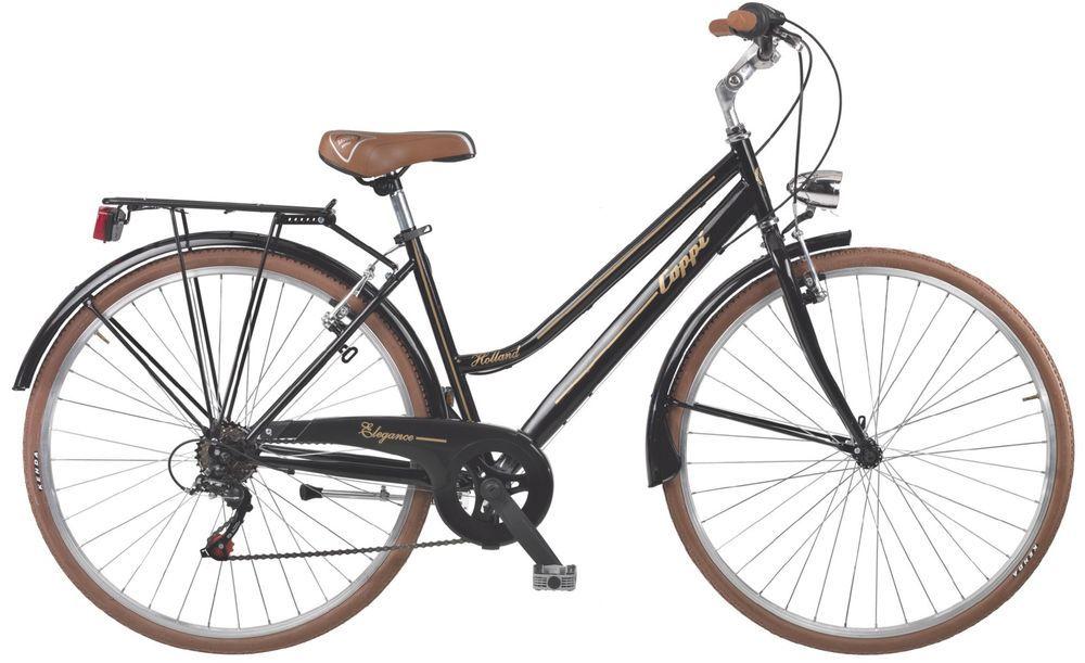 28 Quot Zoll Damen Trekking Fahrrad 6 Gang Coppi Retro Damenrad