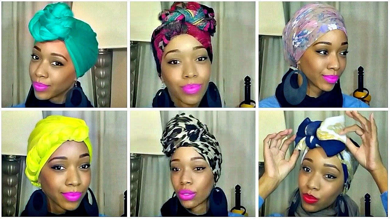 How to tie a turbanheadwrap different styles giveaway