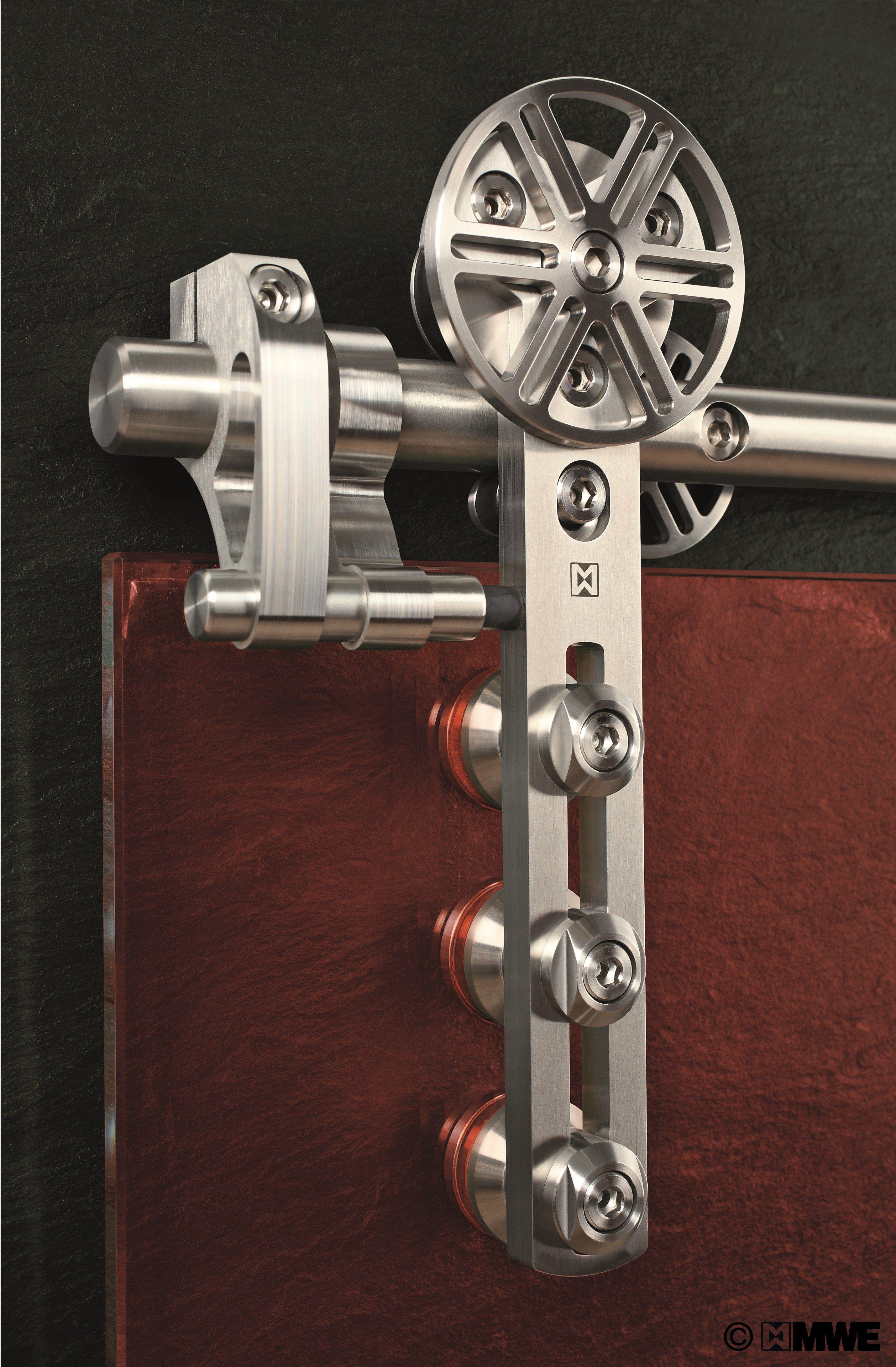 Sliding Door Chronos By Mwe Door Fittings Barn Door Hardware Sliding Door Hardware