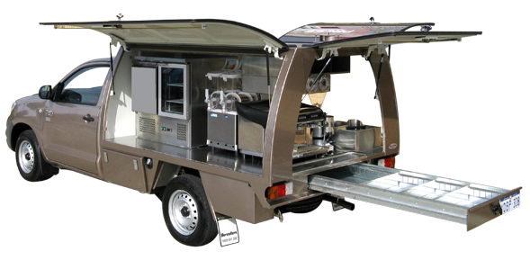 Bosston Auto Bodies premium catering mobile  The Grinder . Perfect for your mobile catering  sc 1 st  Pinterest & Bosston Auto Bodies premium catering mobile