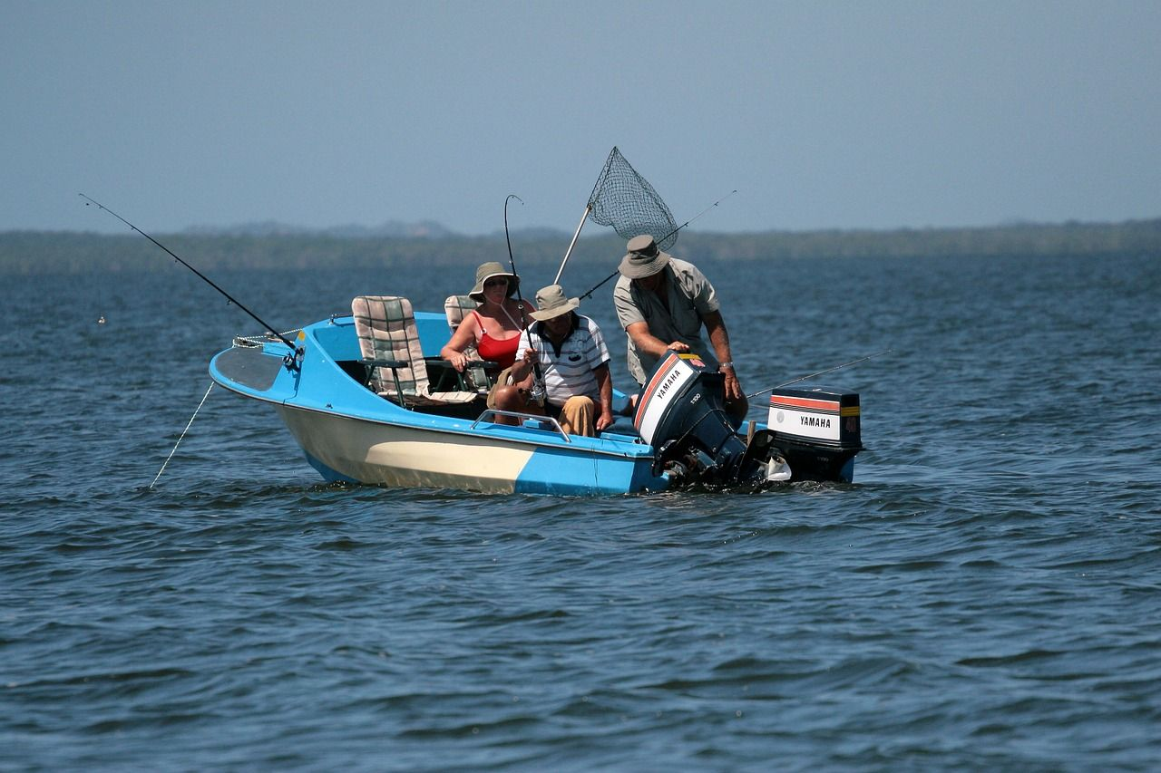 Fishing is a very popular sport in South Africa. It is