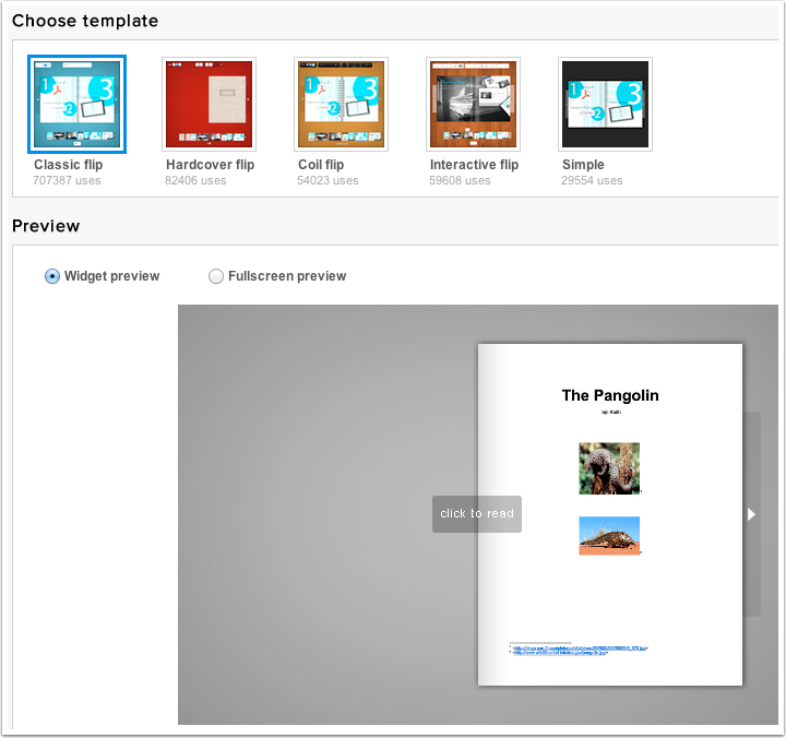 create flipping book from any pdf with flipsnack ss can write in
