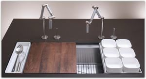 KOHLER K-3761-NA Stages 45-Inch Stainless Steel Kitchen Sink ...