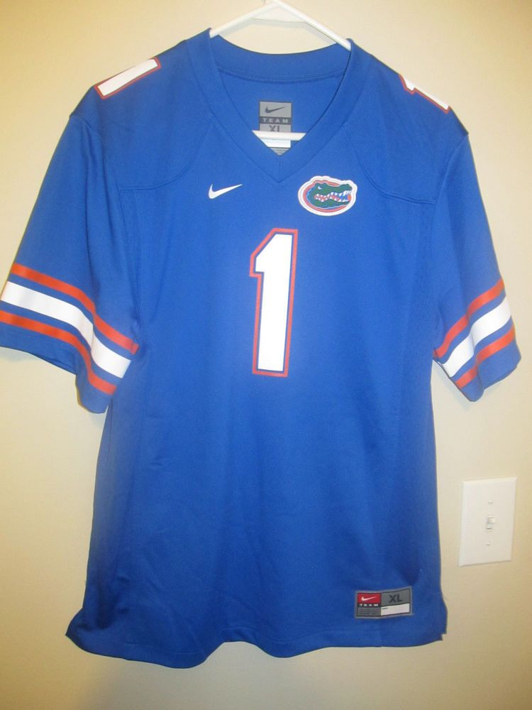 wholesale dealer 4d64f 5ad6d Details about Florida Gators football jersey - Nike youth XL ...
