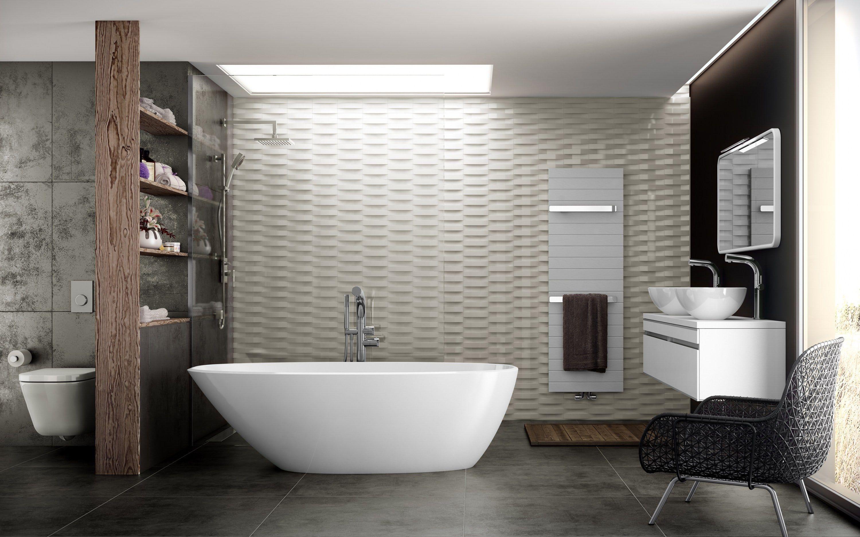 Badezimmer im skandinavischen Stil   Badezimmer Dekoration ...
