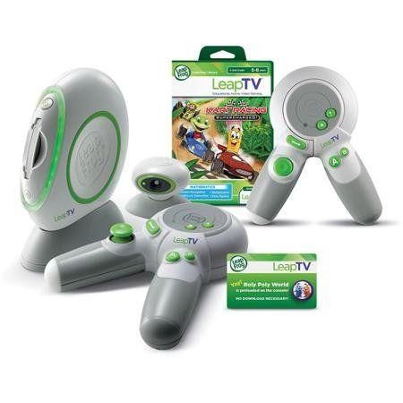 LeapFrog LeapTV Educational Active Video Gaming System Multiplayer Mega Bundle  http://www.bestdealstoys.com/leapfrog-leaptv-educational-active-video-gaming-system-multiplayer-mega-bundle-2/