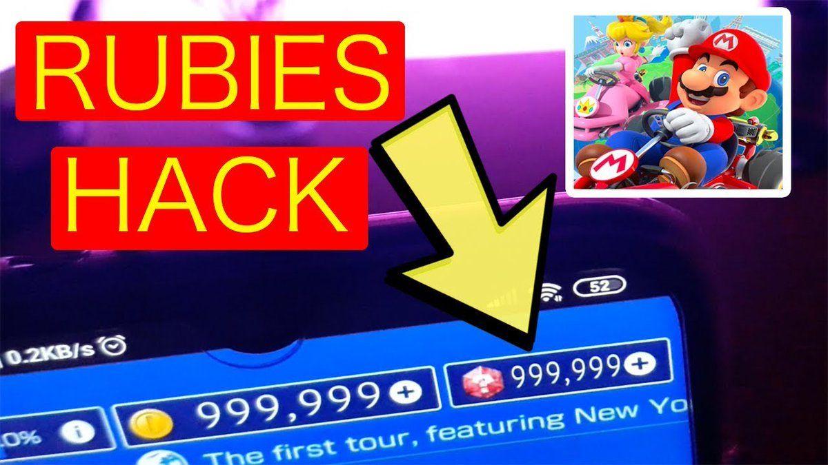 """Mario Kart tour Hack! 100k Rubies """"Android IOS"""" . Mario"""
