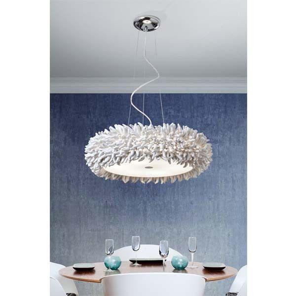 Espectacular lámpara de diseño para salón o comedor. Perfecta para ...