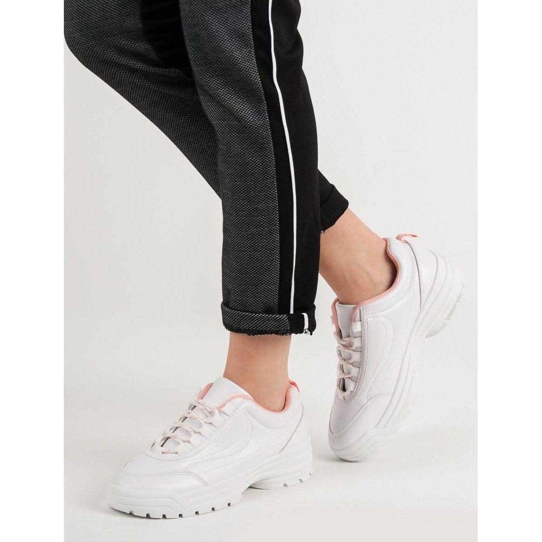 Damskie Buty Sportowe Biale Superga Sneaker Shoes Sneakers
