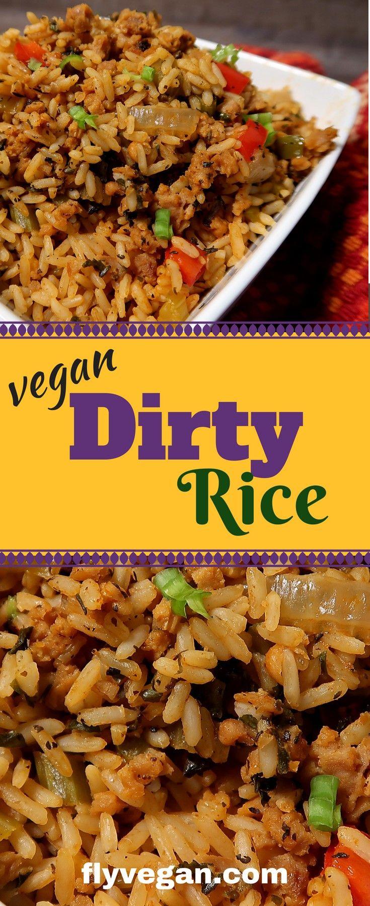 Vegan Cajun Rice Dirty Rice Recipe Lifestyle Shift