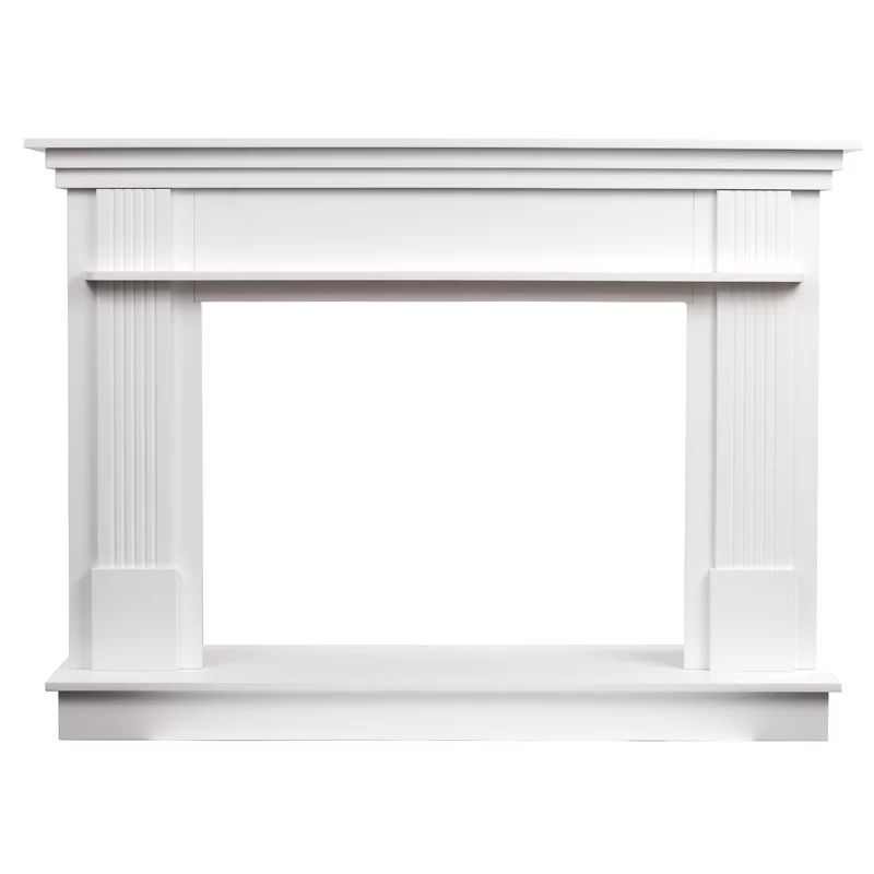 Rosecliff Heights Trinh Freestanding Fireplace Mantel Surround Freestanding Fireplace Contemporary Fireplace Mantels Fireplace Mantel Surrounds