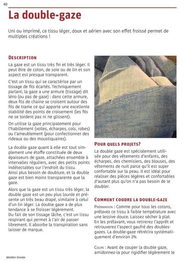 Comment Coudre Tous Les Tissus Comment Coudre Coudre Tissus