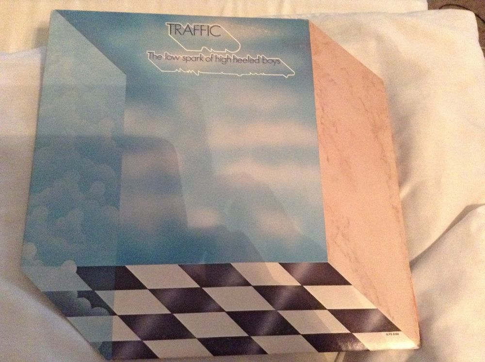 Traffic, The Low Spark Of High Heeled Boys Label, Island Records,LP Vinyl