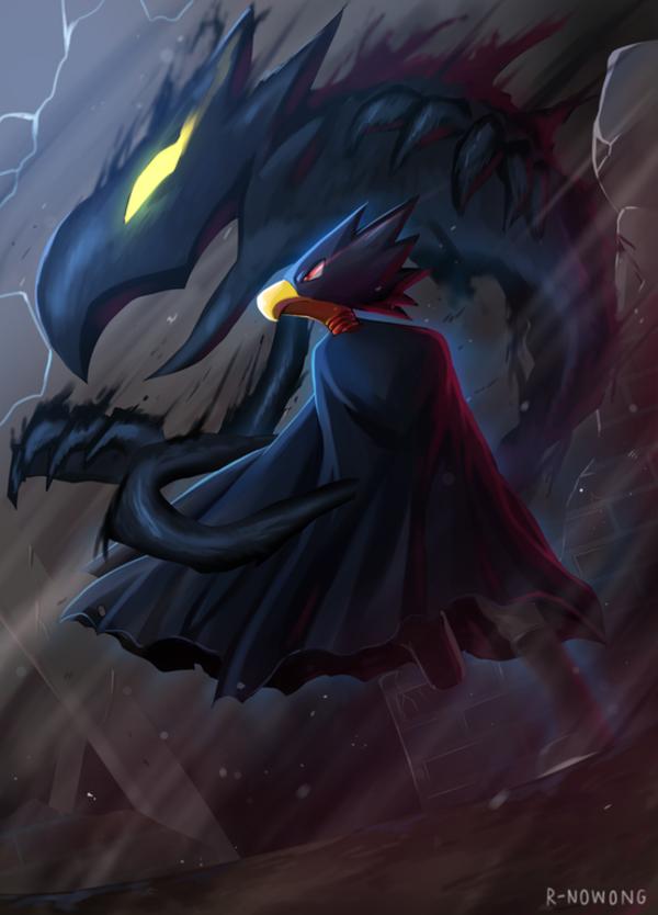 Shadow Knight | My Hero Academia