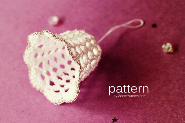 Bell Crochet Pattern Images Knitting Patterns Free Download