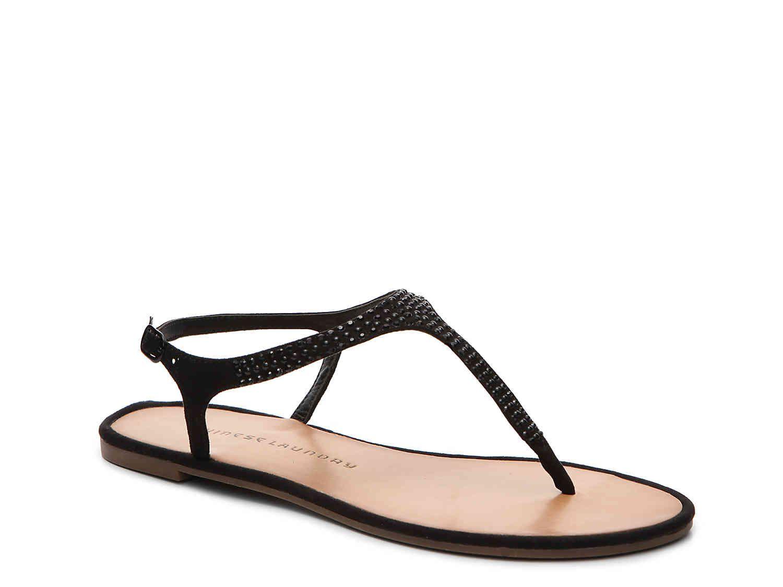 Black sandals at dsw - Goodwill Flat Sandal Dsw