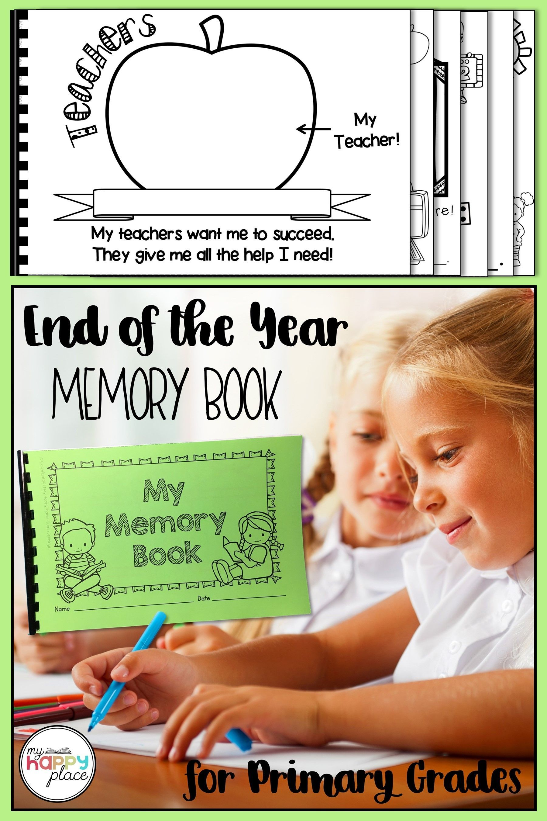 This Sweet Rhyming Memory Book Prints Two To A Page To