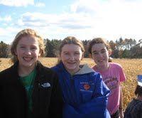 Fun at the Corn Maze! Finally, I'm in it!
