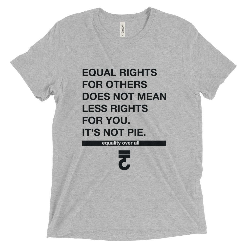 Equal Rights for others does not mean less Short sleeve t-shirt 3XL