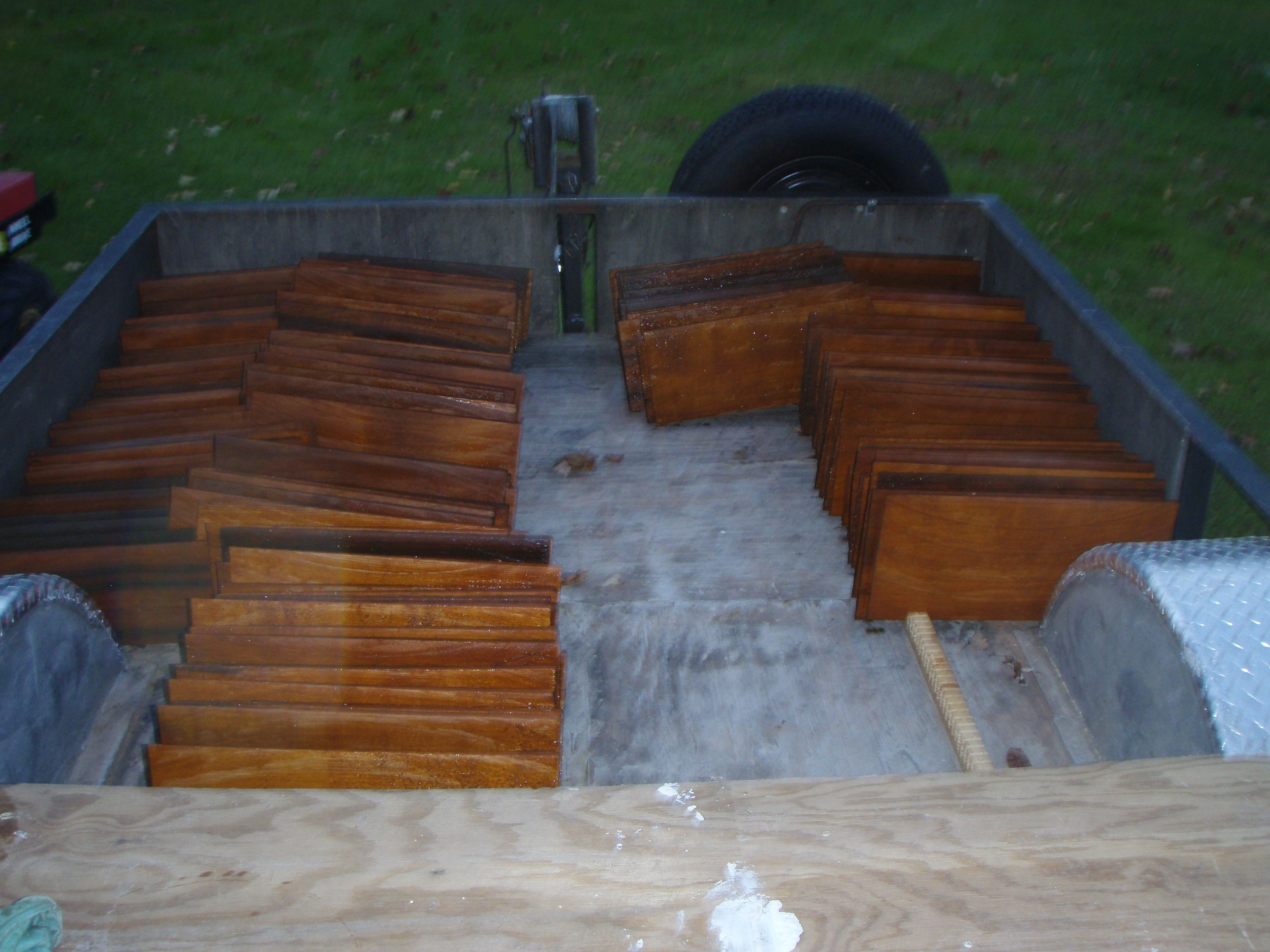 Best Cedar Shingles Drying After Being Dipped In Sikkens Srd 400 x 300