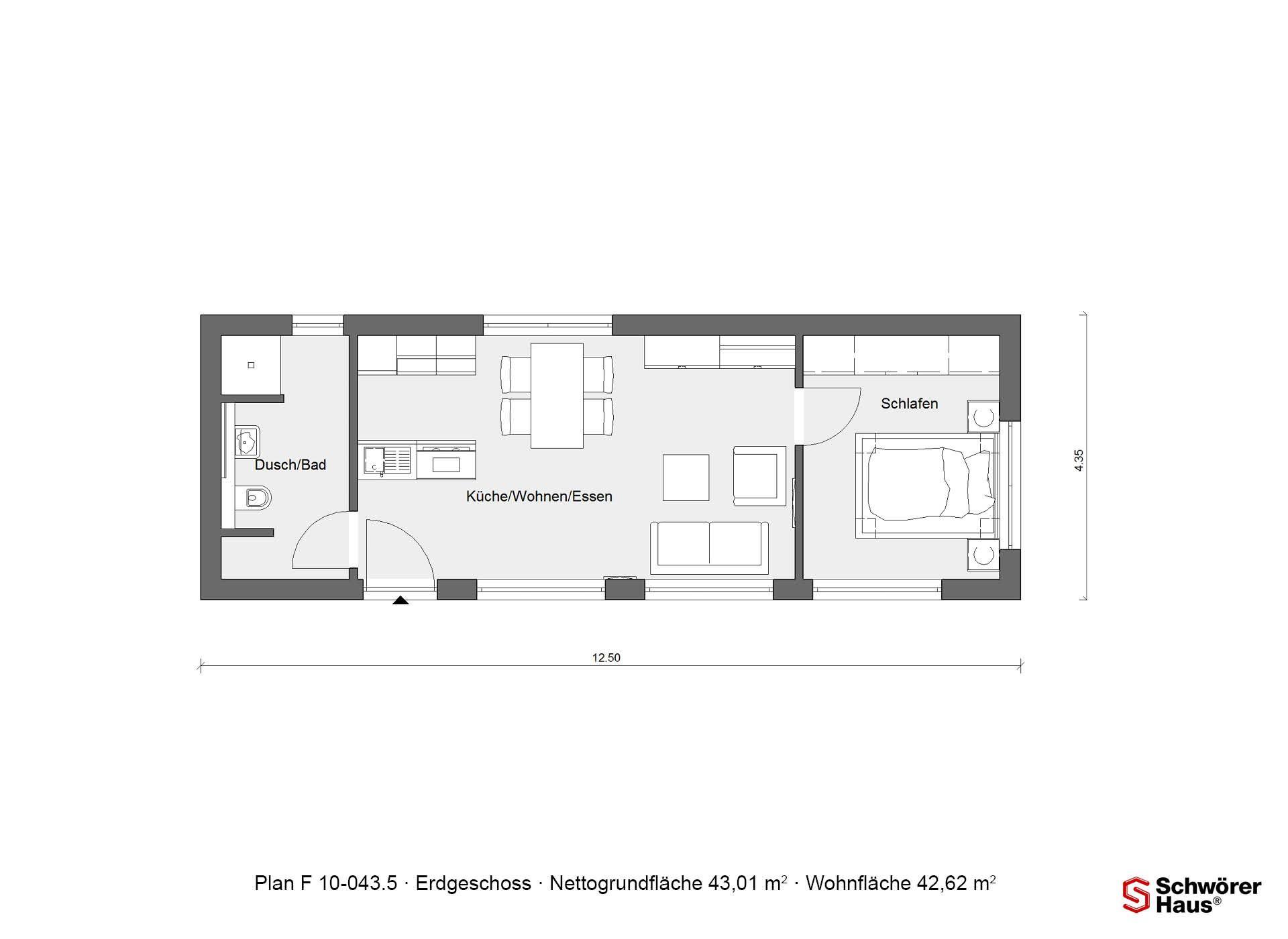 12++ Grundriss wohnung 50 m2 2021 ideen