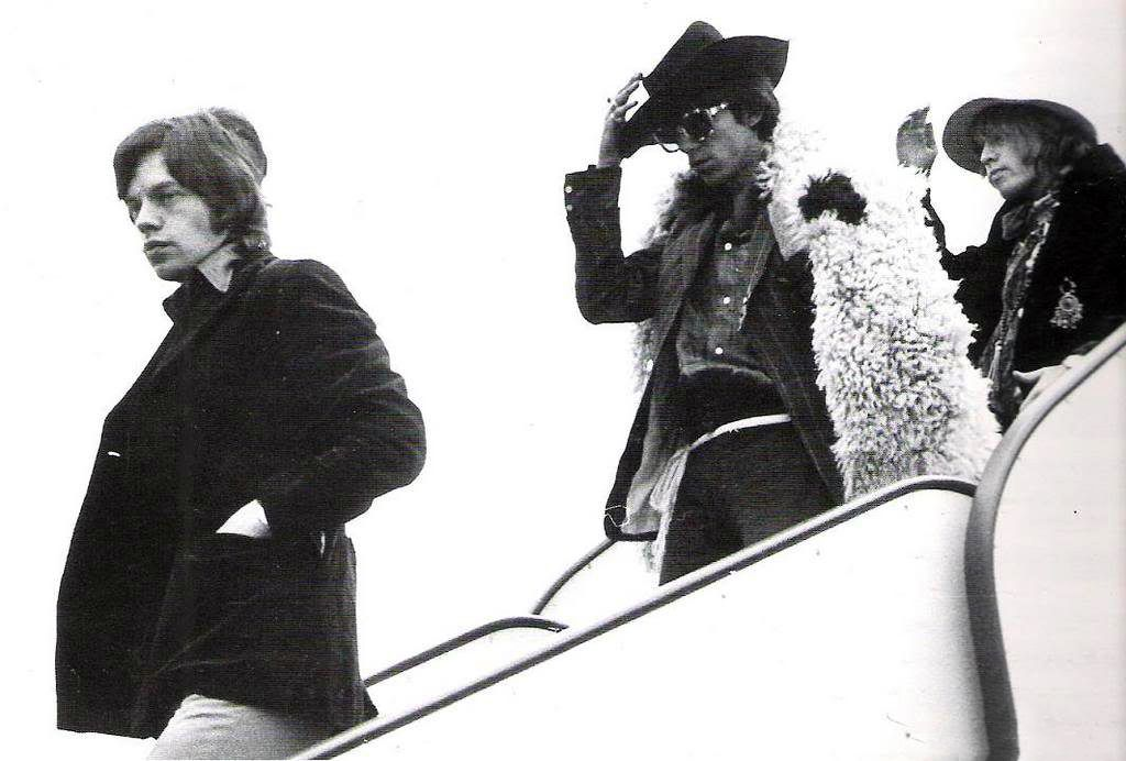 Brian, Keith and Mick. Don't lose those hats boys, it's windy out there!