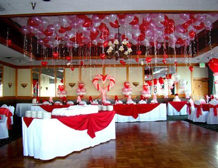 Valentine Dance Decoration Wedding Full Of Hearts Valentine