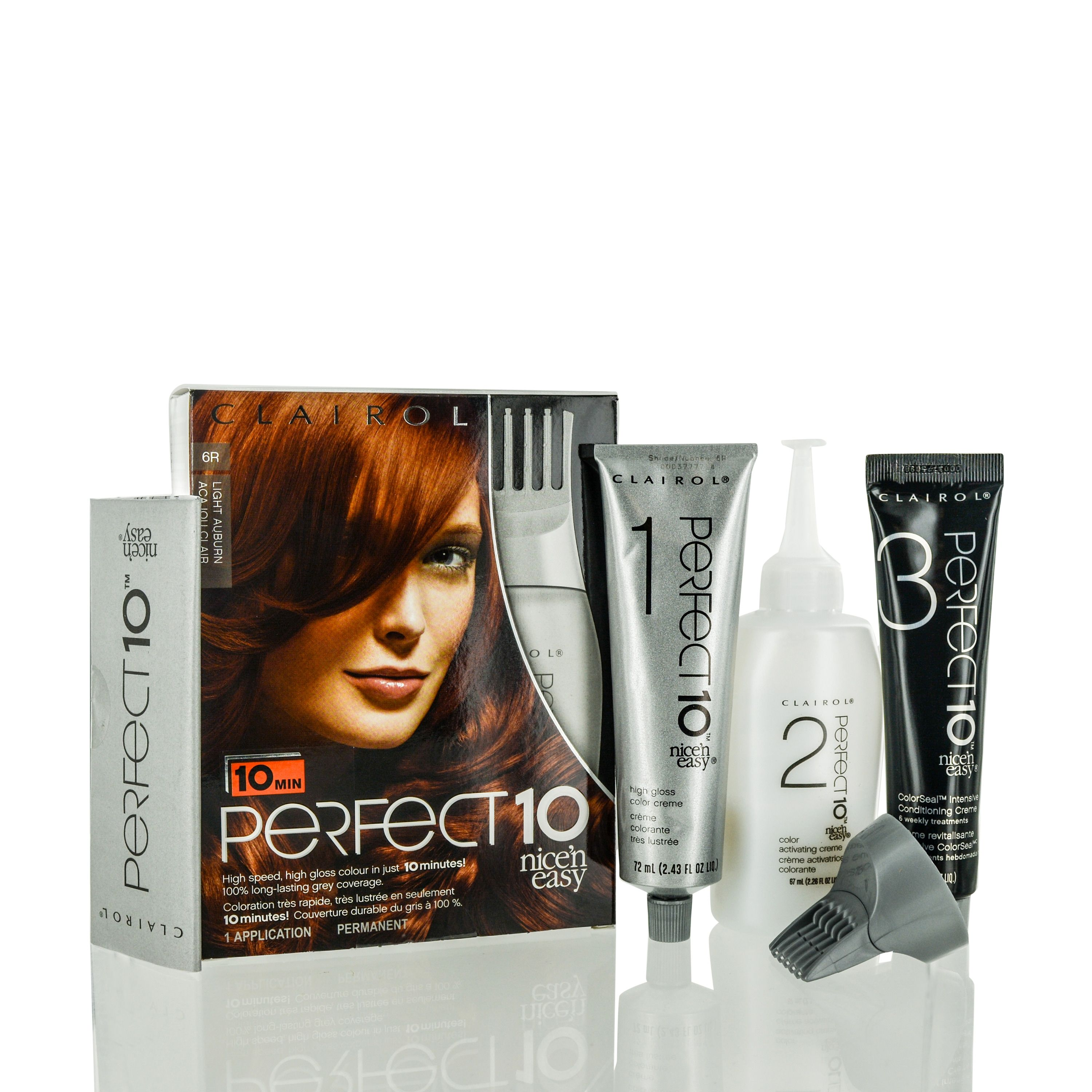Clairol Perfect  Nice uN Easy Light Auburn Kit Red  Products