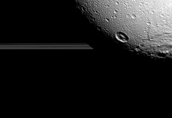 Farewell Dione: Cassini Snaps Last Close Photos of Saturn Moon