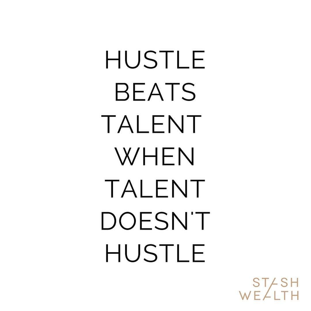 #talent #moneymatters #millennialwealth #growthmatters #newmoney #happily #hustling #stashwealth