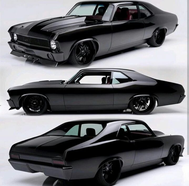 Blacked Out Nova Trucks Car Cars Muscle Cars Vehicles