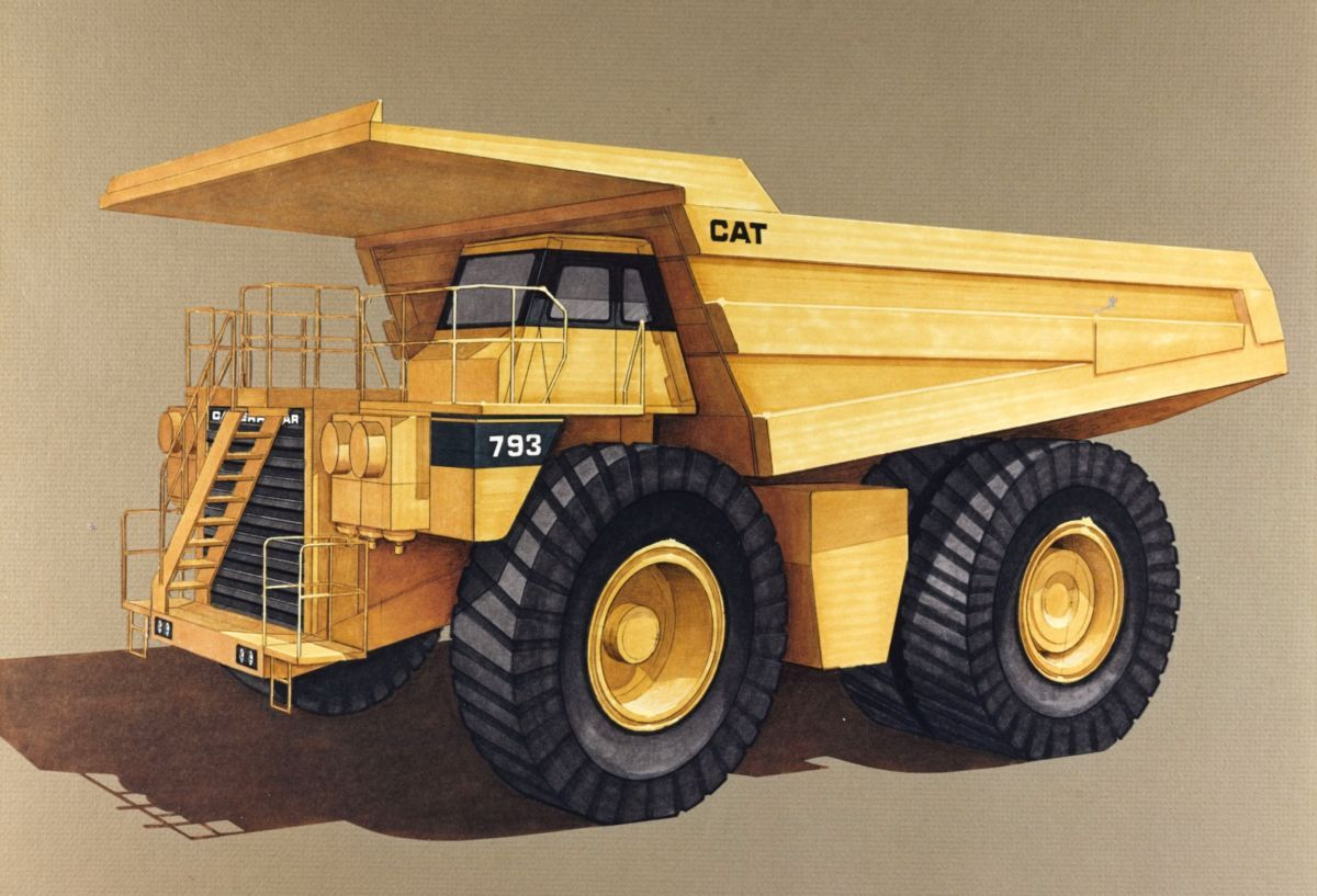 Cat Introduction of the 793 Caterpillar Cats, Trucks