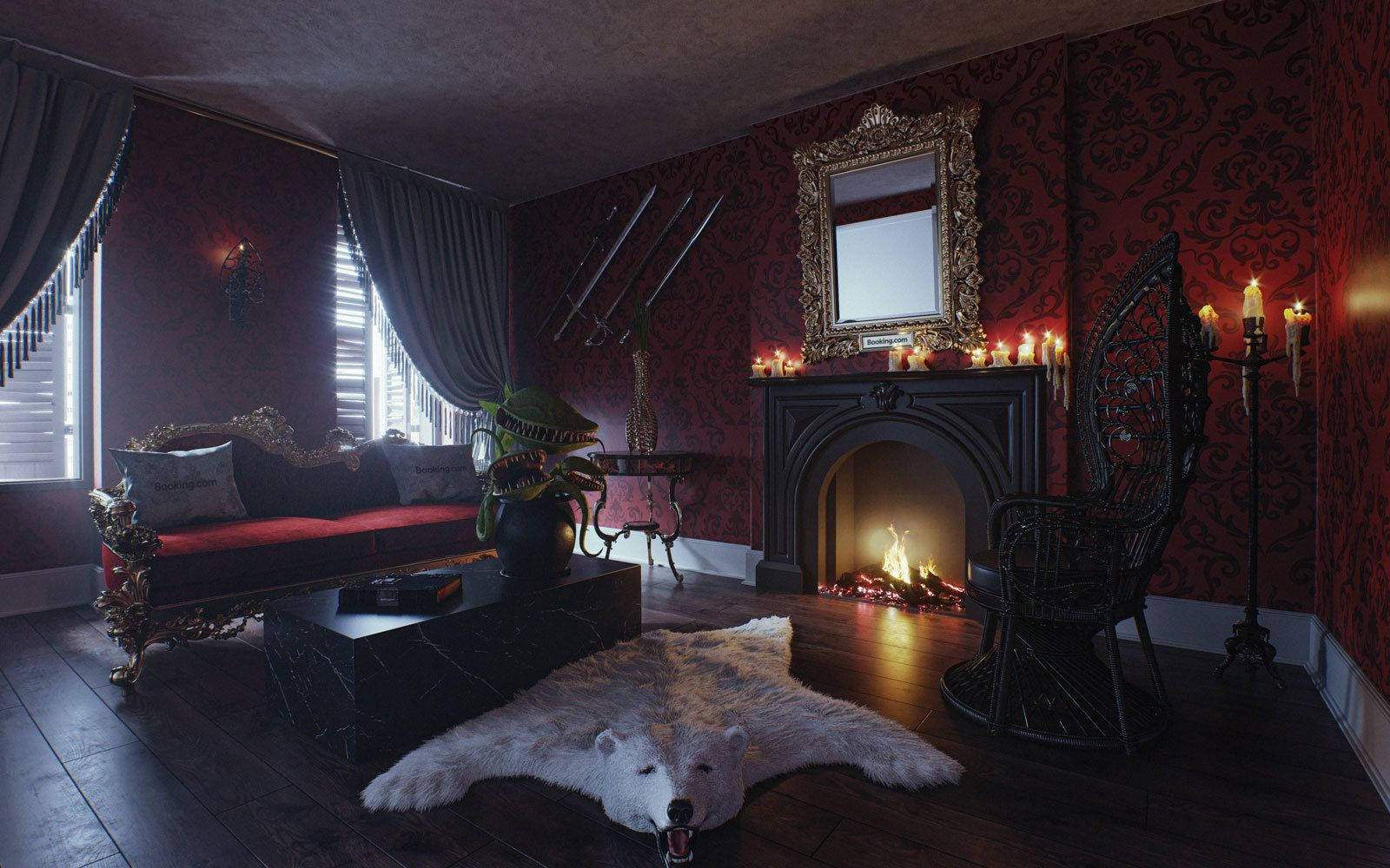 The Addams Family Mansion Is Inviting You To Stay Over This