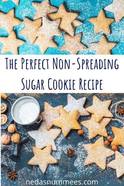 This best sugar cookie recipe, does not spread upon baking.  Learn how to easily make them, it will be your go to sugar cookie recipe for ever! #bestsugarcookierecipe #bestsugarcookie #nonspreadingsugarcookie